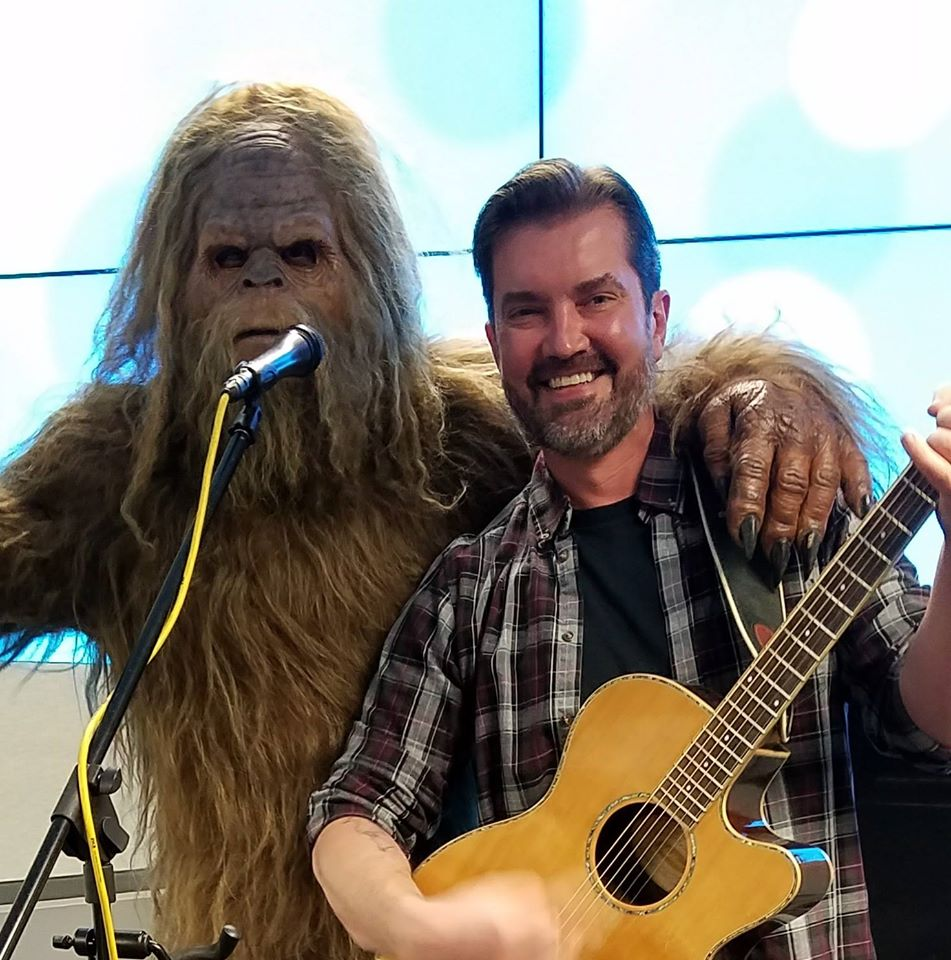 Jamming with Sasquatch